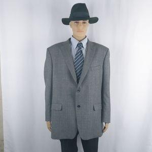 Jones New York Men's gray blazer size 52R (XXL)
